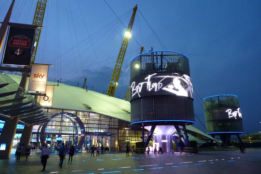Brit Floyd at the O2 Arena London