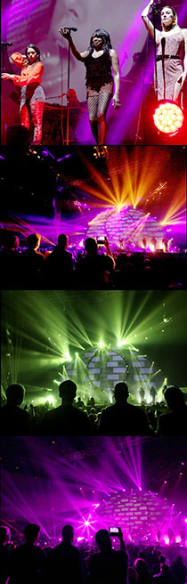 Brit Floyd - Pink Floyd tribute - band member photos